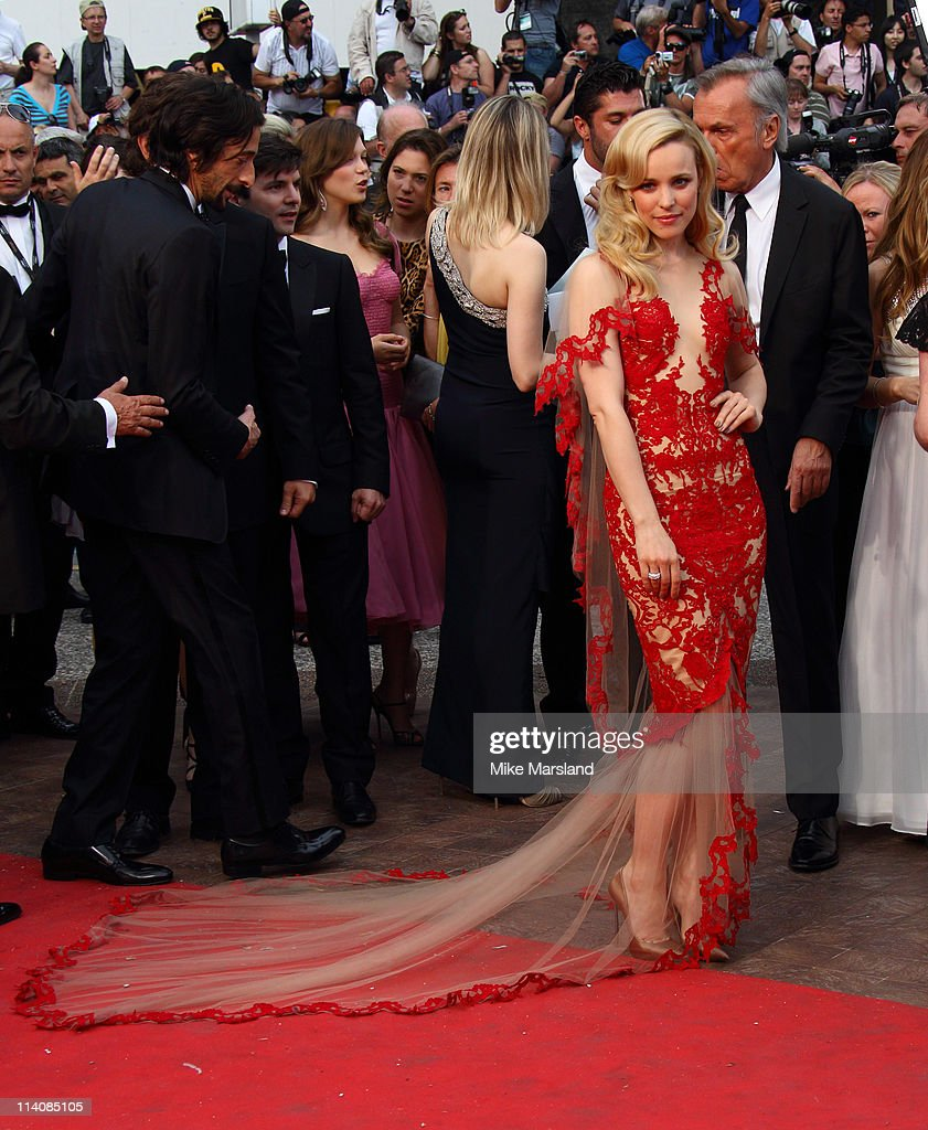 Rachel McAdams arrives at the Midnight In Paris' Premiere part of the 64th Cannes Film Festival at Palais des Festivals on May 11, 2011 in Cannes, France.