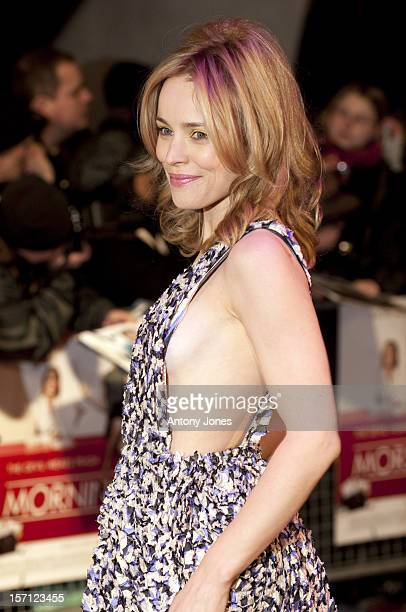 Rachel Mcadams Arriving For The Uk Premiere Of Morning Glory At The Empire Leicester Square London