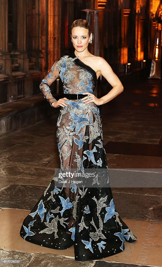 Rachel McAdams attends the red carpet launch event for 'Doctor Strange' on October 24, 2016 in London, United Kingdom.