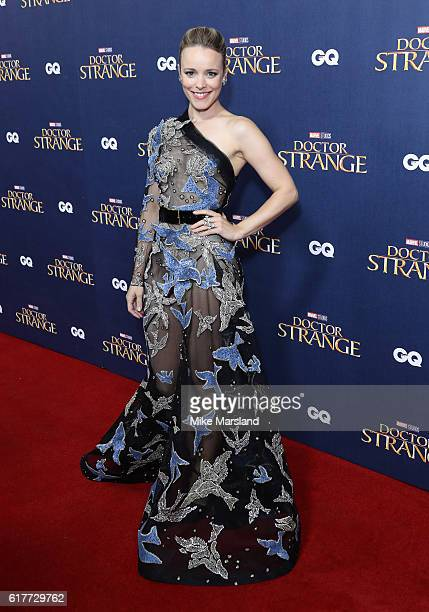 Rachel Mcadams attends the red carpet launch event for 'Doctor Strange' on October 24 2016 in London United Kingdom