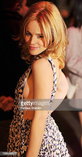 Rachel McAdams attends the UK premiere of 'Morning Glory' at Empire Leicester Square on January 11 2011 in London England