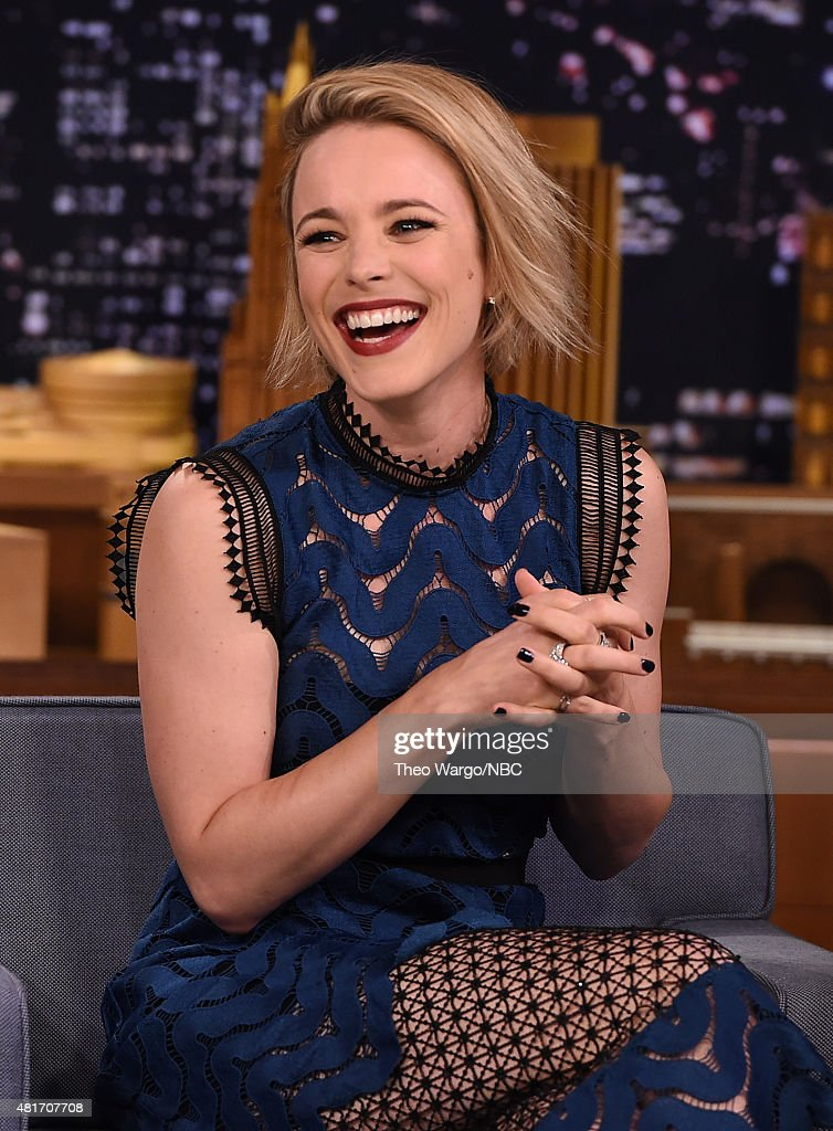 Rachel McAdams Visits 'The Tonight Show Starring Jimmy Fallon' at Rockefeller Center on July 23 2015 in New York City