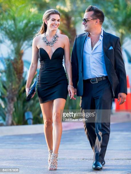 Rachel McCord and Rick Schirmer are seen on August 29 2017 in Los Angeles California