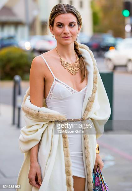 Rachel McCord is seen on November 19 2016 in Los Angeles California