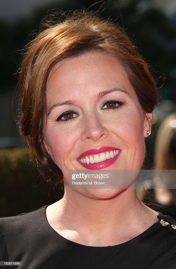 Rachel Mcfarland attends The Academy Of Television Arts & Sciences 2012 Creative Arts Emmy Awards at the Nokia Theatre L.A. Live on September 15, 2012 in Los Angeles, California.