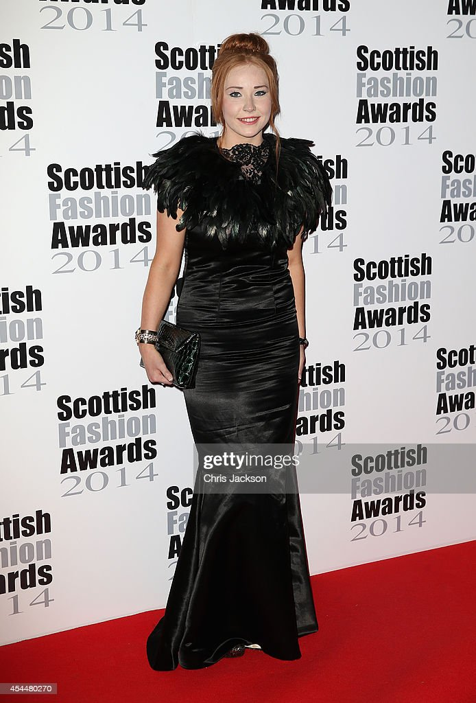Rachel McMillan attends The Scottish Fashion Awards on September 1, 2014 in London, England.