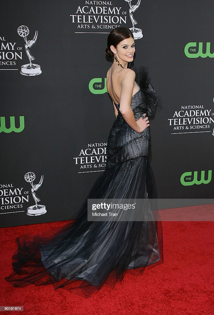 Rachel Melvin arrives to the 36th Annual Daytime Emmy Awards held at The Orpheum Theatre on August 30, 2009 in Los Angeles, California.