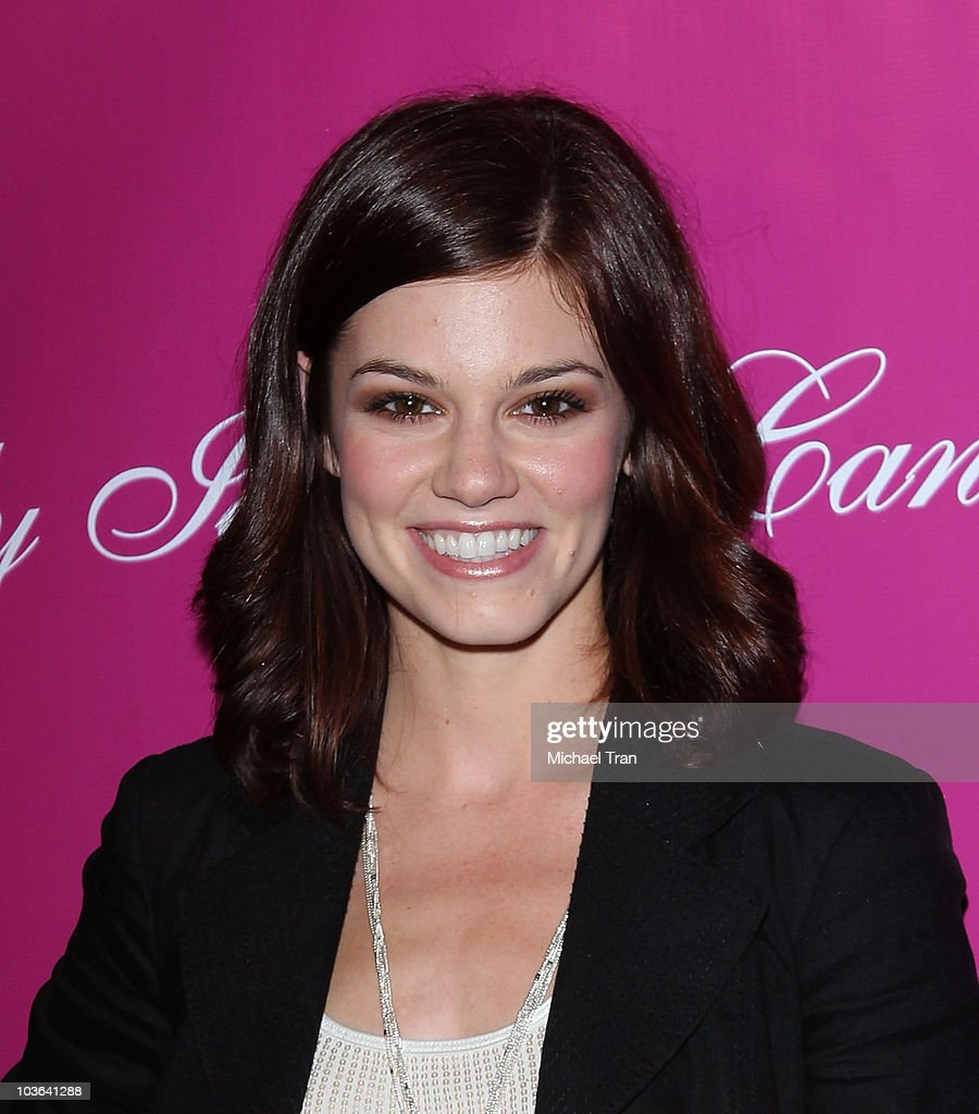 Rachel Melvin arrives to the 'Candy Ice' jewelry launch event held at MyStudio Nightclub on August 13, 2010 in Los Angeles, California.