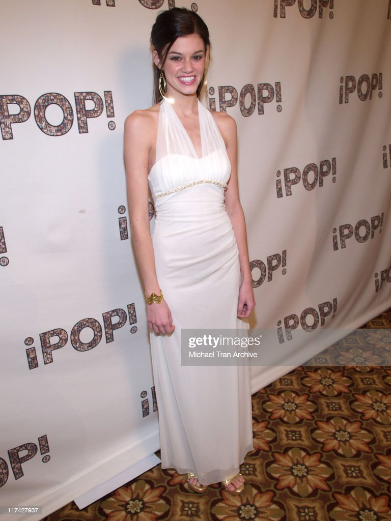 Rachel Melvin during 2006 iPOP Awards - Backstage at Century Plaza Hotel Hotel in Century City, California, United States.