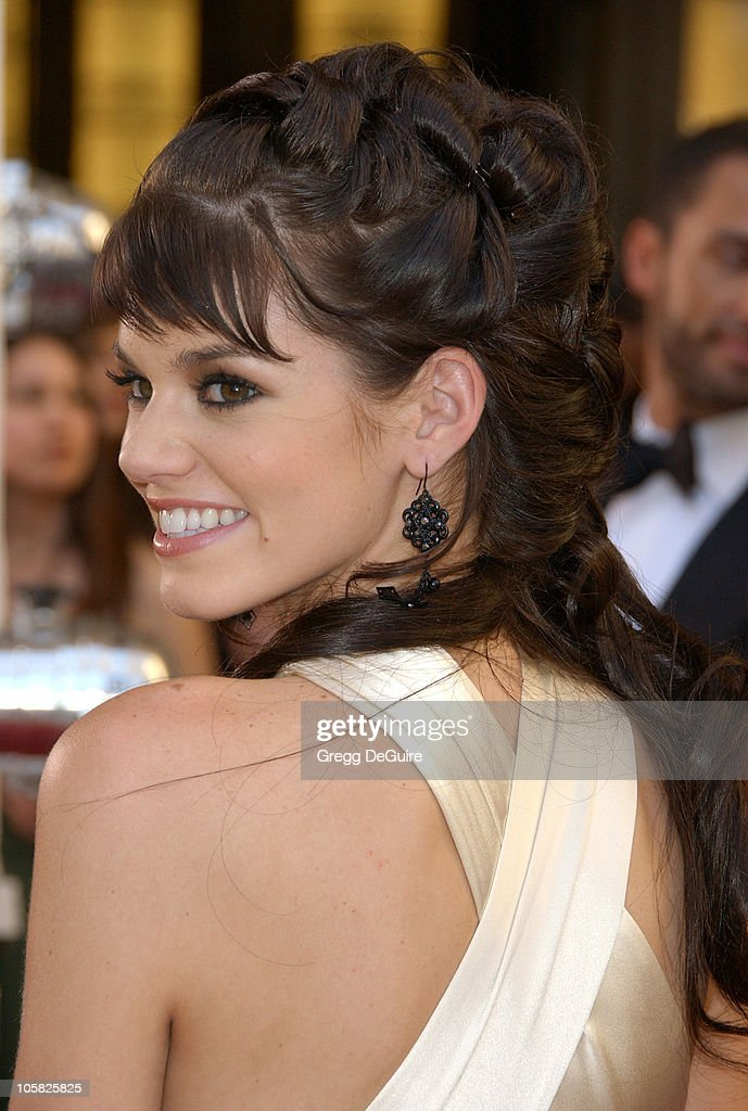 <a gi-track='captionPersonalityLinkClicked' href=/galleries/search?phrase=Rachel+Melvin&family=editorial&specificpeople=594120 ng-click='$event.stopPropagation()'>Rachel Melvin</a> during 34th Annual Daytime Emmy Awards - Arrivals at Kodak Theater in Hollywood, California, United States.