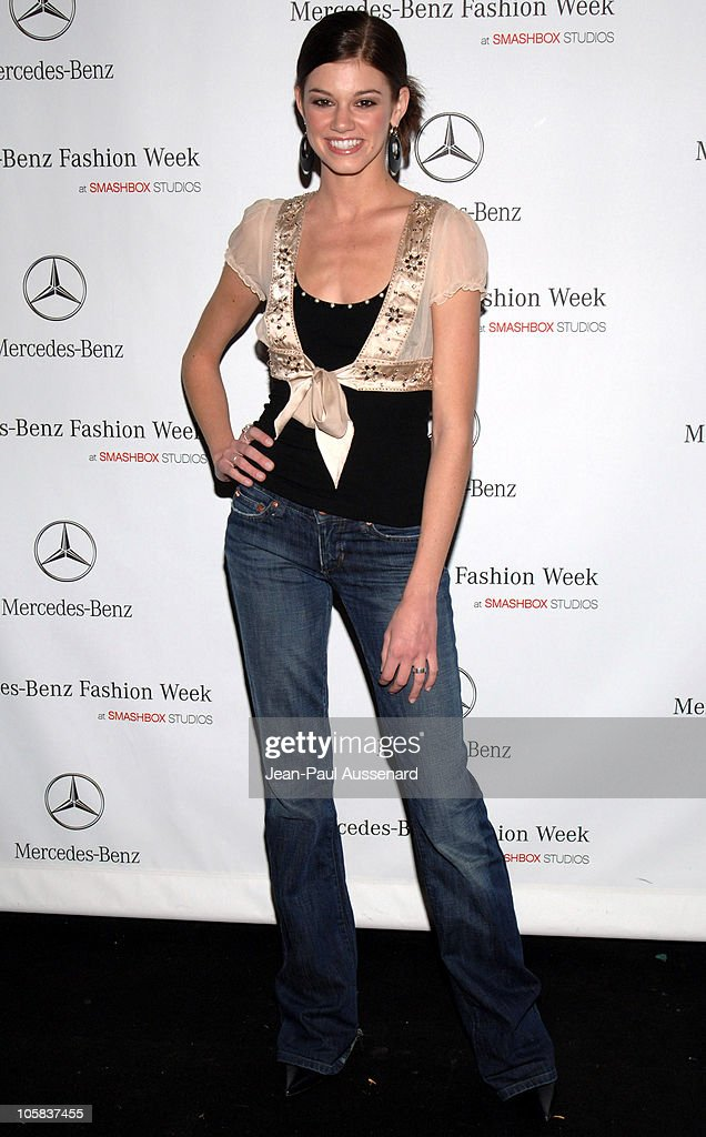 Rachel Melvin during MercedesBenz Fall 2006 LA Fashion Week at Smashbox Studios Day 5 Arrivals at Smashbox Studios in Culver City California United...
