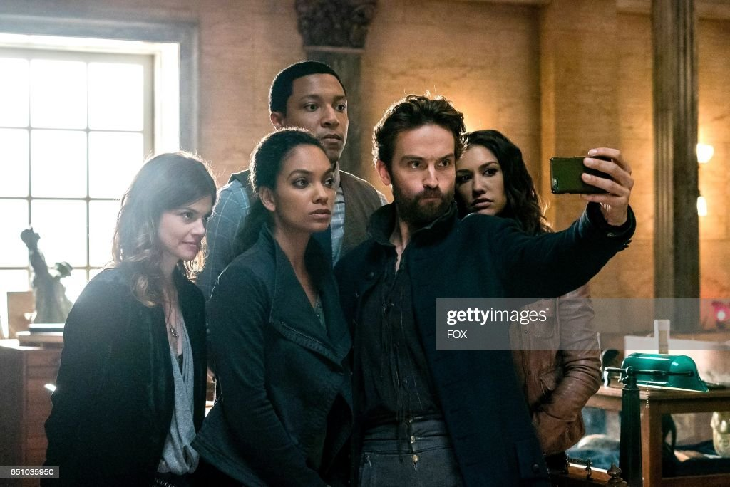 Rachel Melvin, Lyndie Greenwood, Jerry MacKinnon, Tom Mison and Janina Gavankar in theSick Burn episode of SLEEPY HOLLOW airing Friday, Feb. 24 (9:00-10:00 PM ET/PT) on FOX.