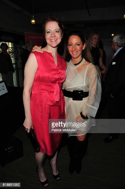 Rachel Moore and Christina DePaul attend In the Studio A Celebration of the Young Arts Gold and Silver Winners at Baryshnikov Arts Center and...