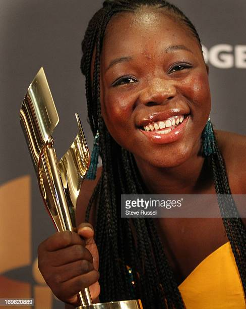 Rachel Mwanza wins for War Witch at the Canadian Screen Awards at the Sony Centre