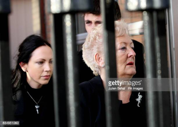 Rachel O'Reilly's mother Rose Callaly and family on their way into the Court of Criminal Appeal in Dublin