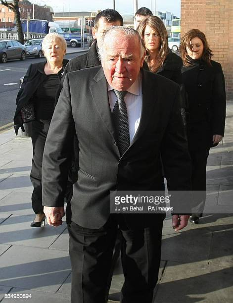 Rachel O'Reilly's parents Jim and Rose Callaly and family on their way into the Court of Criminal Appeal in Dublin