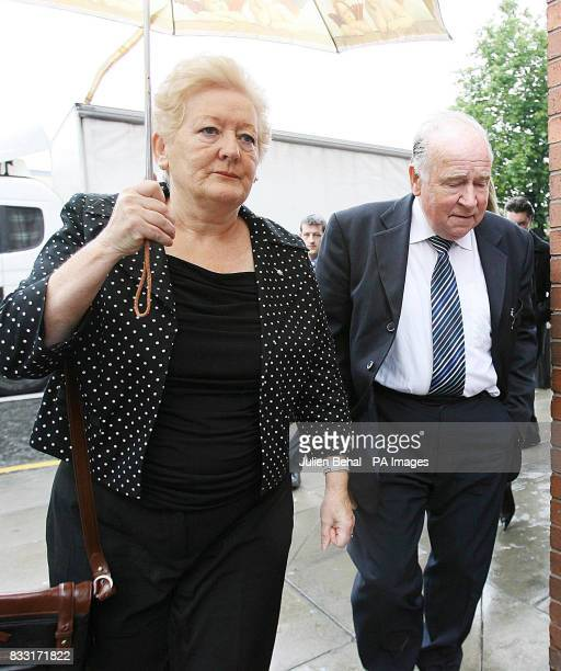 Rachel O'Reilly's parents Rose and Jim Callelley arriving at the Central Criminal Court in Dublin today