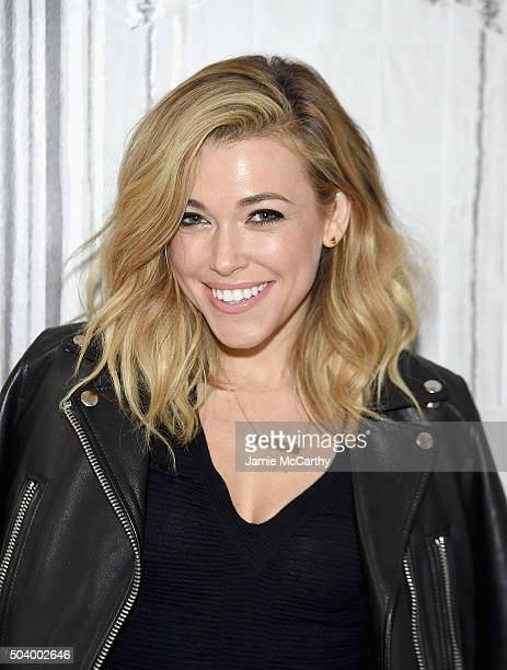 Rachel Platten attends AOL BUILD Series at AOL Studios In New York on January 8 2016 in New York City