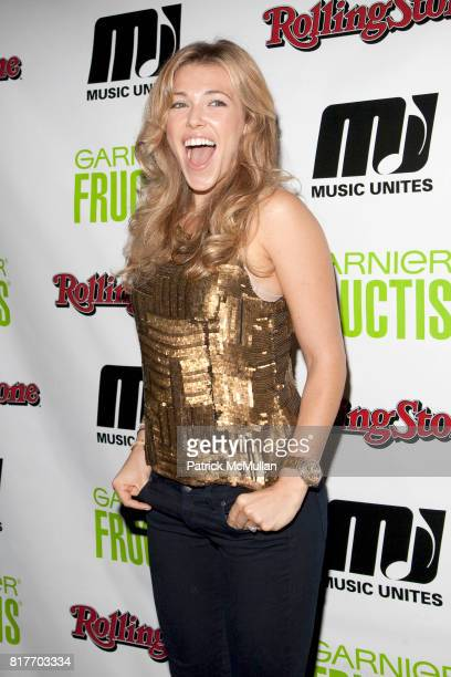 Rachel Platten attends EMPOWERING WOMEN THROUGH MUSIC INITIATIVE by MUSIC UNITES at The Standard's Le Bain on October 4 2010 in New York City