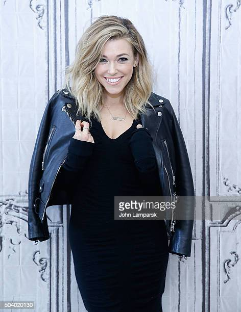 Rachel Platten discusses her new album 'Wildfire' during AOL BUILD Speaker Series at AOL Studios In New York on January 8 2016 in New York City