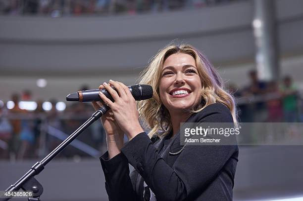 Rachel Platten performs and meets fans at The Mall of America on Aug 17 2015 in Bloomington Minnesota