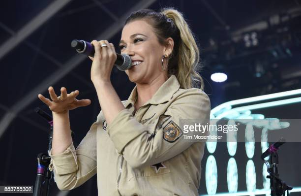 Rachel Platten performs during the 2017 Life is Beautiful Festival on September 24 2017 in Las Vegas Nevada