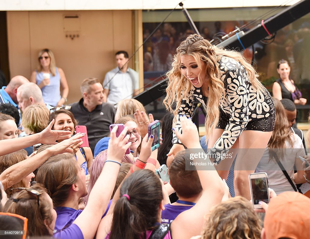 Rachel Platten Performs On NBC's 'Today' at Rockefeller Plaza on July 1, 2016 in New York City.