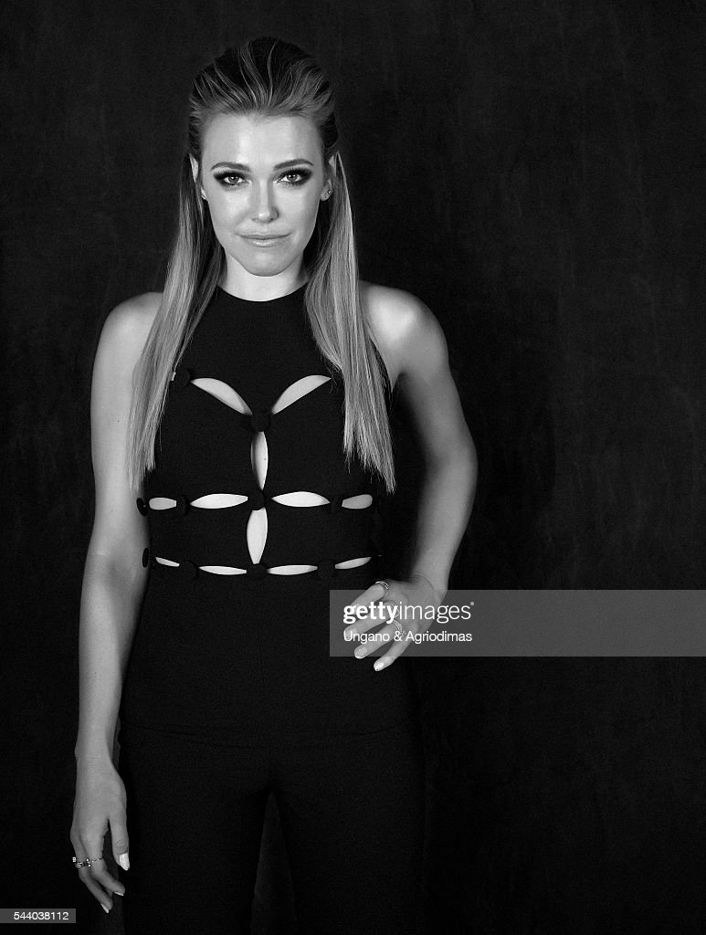 Rachel Platten poses for a portrait at Logo's 'Trailblazer Honors' on June 23, 2016, in the Cathedral of St. John the Divine in New York City.