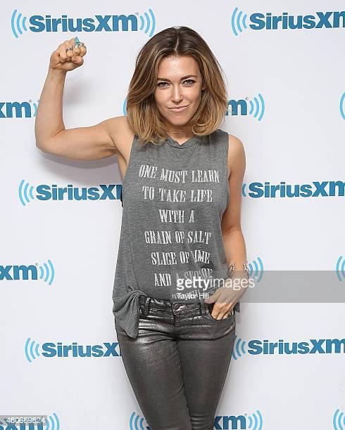 Rachel Platten visits the SiriusXM Studios on July 14 2015 in New York City