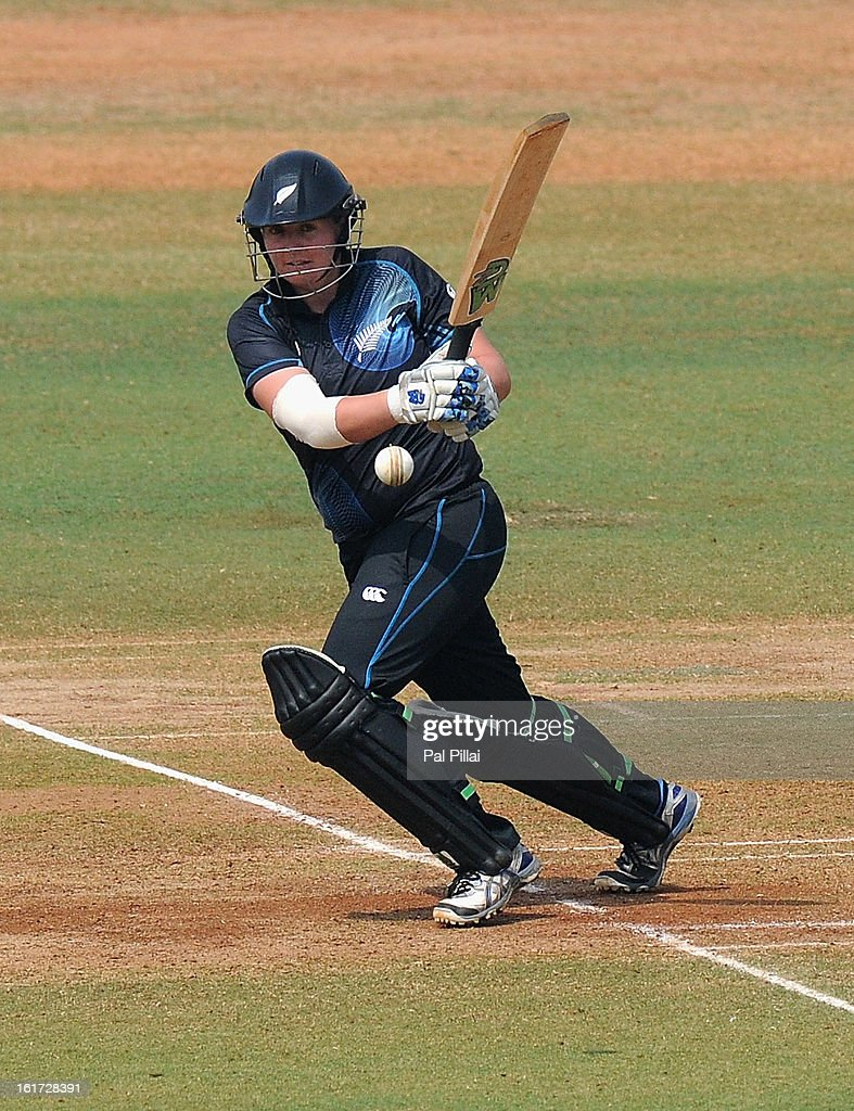 Rachel Priest of New Zealand bats during the 3rd/4th Place Play-Off game between England and New Zealand held at the CCI (Cricket Club of India) ground on February 15, 2013 in Mumbai, India.