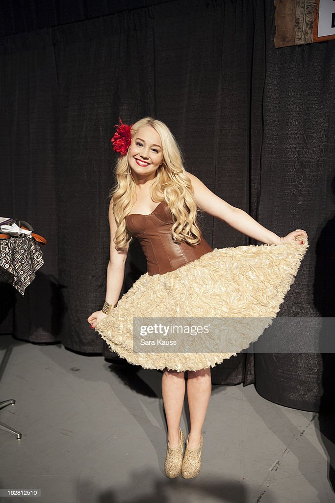 Rachel 'RaeLynn' Woodward attends CRS 2013 on February 27, 2013 in Nashville, Tennessee.