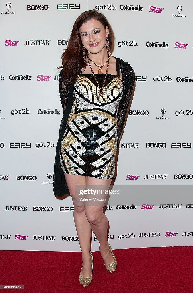 Rachel Reilly arrives at Star Magazine Hollywood Rocks 2014 at SupperClub Los Angeles on April 23, 2014 in Los Angeles, California.