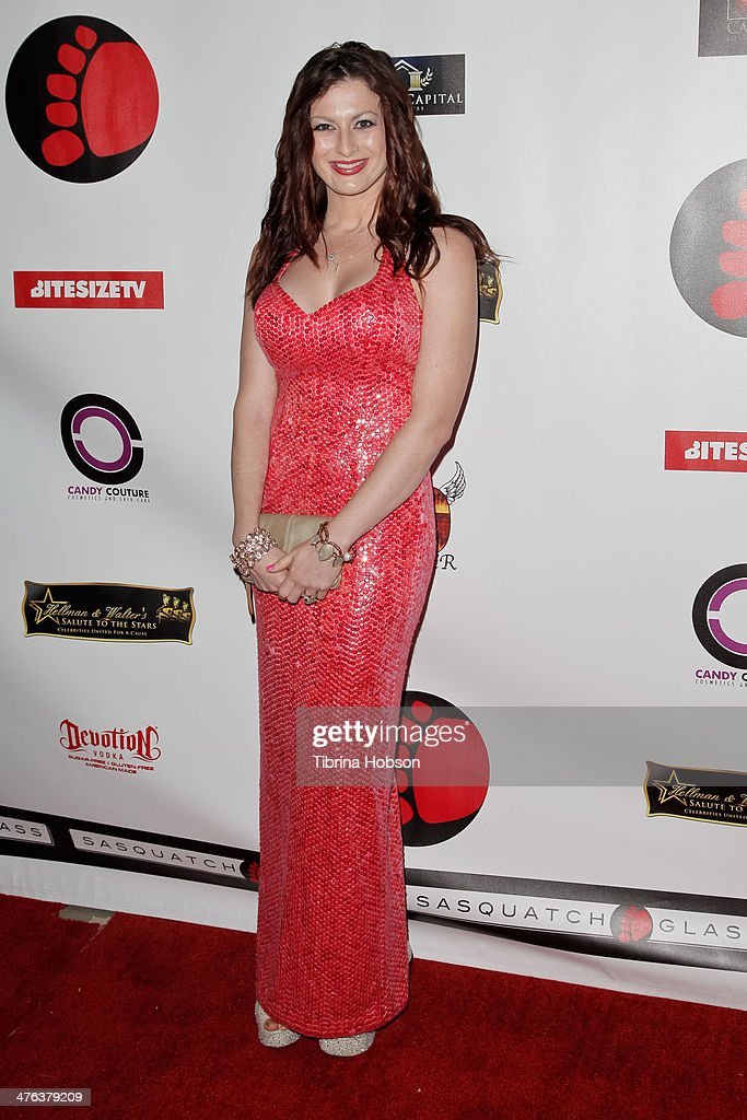 Rachel Reilly attends the 4th annual salute to the stars Oscar party at W Hollywood on March 2, 2014 in Hollywood, California.