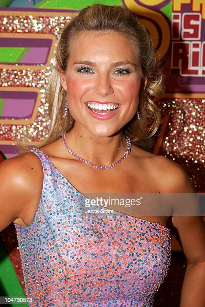 Rachel Reynolds during 'The Price is Right' 34th Season Premiere Taping at CBS Television City in Los Angeles California United States