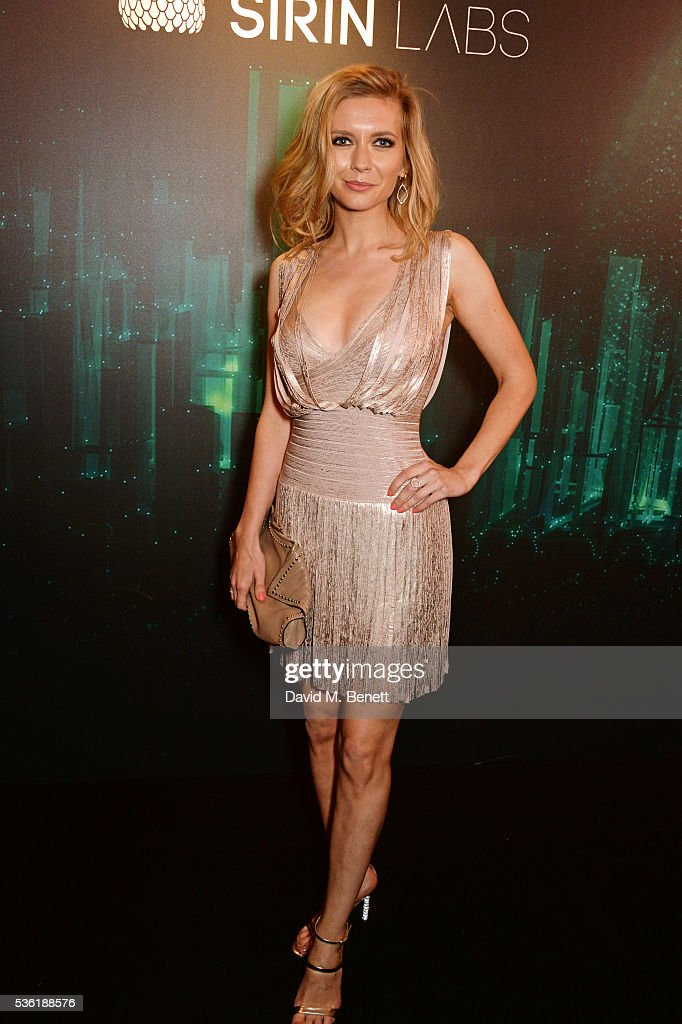 <a gi-track='captionPersonalityLinkClicked' href=/galleries/search?phrase=Rachel+Riley&family=editorial&specificpeople=7482177 ng-click='$event.stopPropagation()'>Rachel Riley</a> attends as SIRIN LABS Launches SOLARIN at One Marylebone on May 31, 2016 in London, England.
