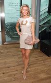 Rachel Riley attends the Julien Macdonald show during London Fashion Week Spring Summer 2015 on September 13 2014 in London England