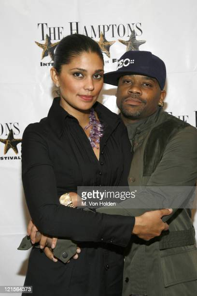 Rachel Roy and Damon Dash during 14th Annual Hamptons International Film Festival Golden Starfish Awards Ceremony at Guild Hall in East Hampton New...