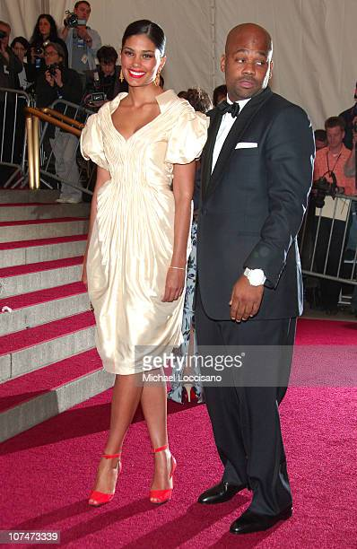 Rachel Roy and Damon Dash during 'AngloMania' Costume Institute Gala at The Metropolitan Museum of Art Arrivals Celebrating 'AngloMania Tradition and...