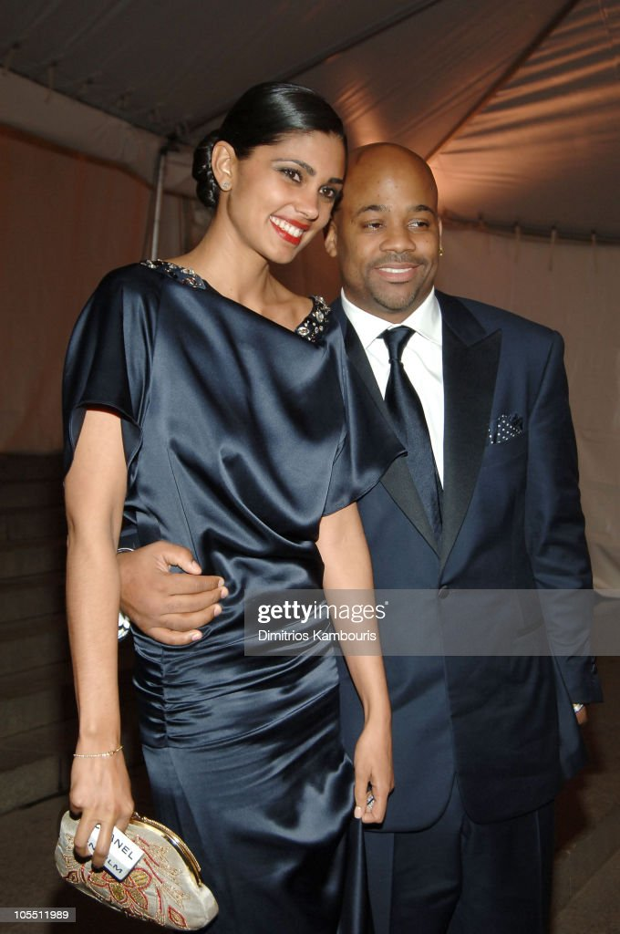 Rachel Roy and damon Dash during 'Chanel' Costume Institute Gala at The Metropolitan Museum of Art Departures at The Metropolitan Museum of Art in...