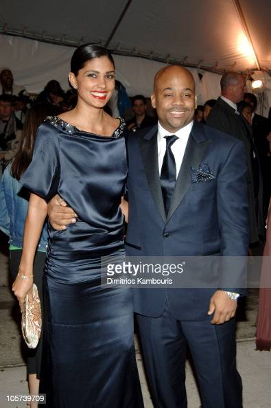 Rachel Roy and Damon Dash during 'Chanel' Costume Institute Gala at The Metropolitan Museum of Art Arrivals at The Metropolitan Museum of Art in New...