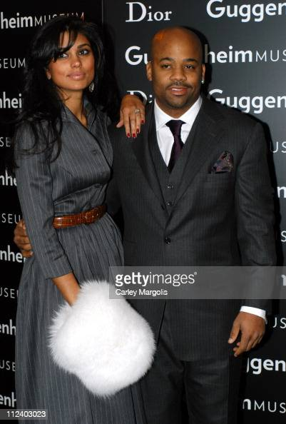 Rachel Roy and Damon Dash during Dior Sponsors the Solomon R Guggenheim Museum's Young Collectors Council Artist's Ball Honoring Matthew Ritchie at...