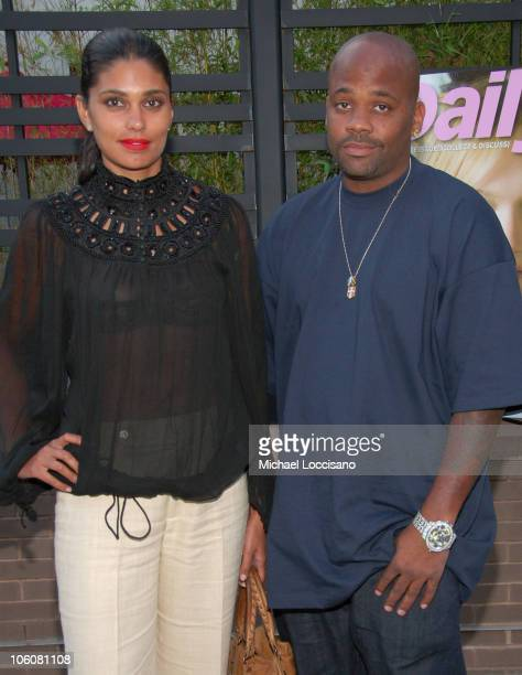 Rachel Roy and Damon Dash during Launch Party for the Daily Mini at ONO at the Gansevoort Hotel in New York City New York United States
