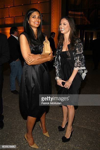 Rachel Roy and Georgina Chapman attend VANITY FAIR Tribeca Film Festival Party hosted by Graydon Carter and Robert DeNiro at The State Supreme...