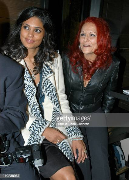 Rachel Roy and Patricia Field during Patricia Field for the House of Rocawear Lounge at Ono at the Hotel Gansevort in New York City New York United...