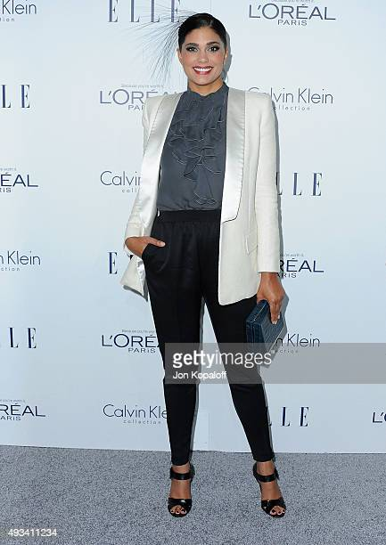 Rachel Roy arrives at the 22nd Annual ELLE Women In Hollywood Awards at Four Seasons Hotel Los Angeles at Beverly Hills on October 19 2015 in Los...