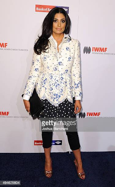 Rachel Roy arrives at the International Women's Media Foundation Courage Awards at the Beverly Wilshire Four Seasons Hotel on October 27 2015 in...