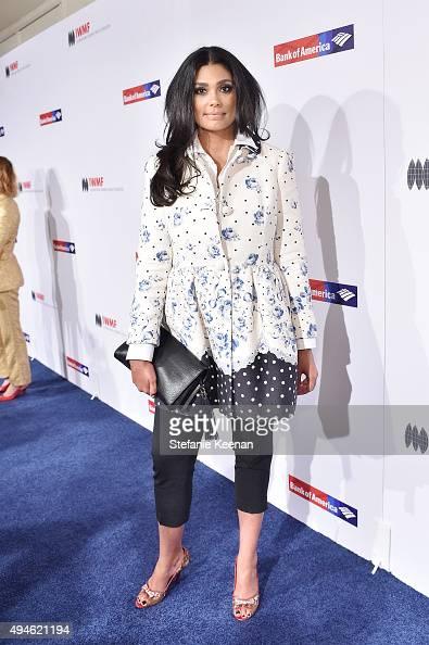 Rachel Roy attends 2015 International Women's Media Foundation Courage Awards Los Angeles at Regent Beverly Wilshire Hotel on October 27 2015 in...