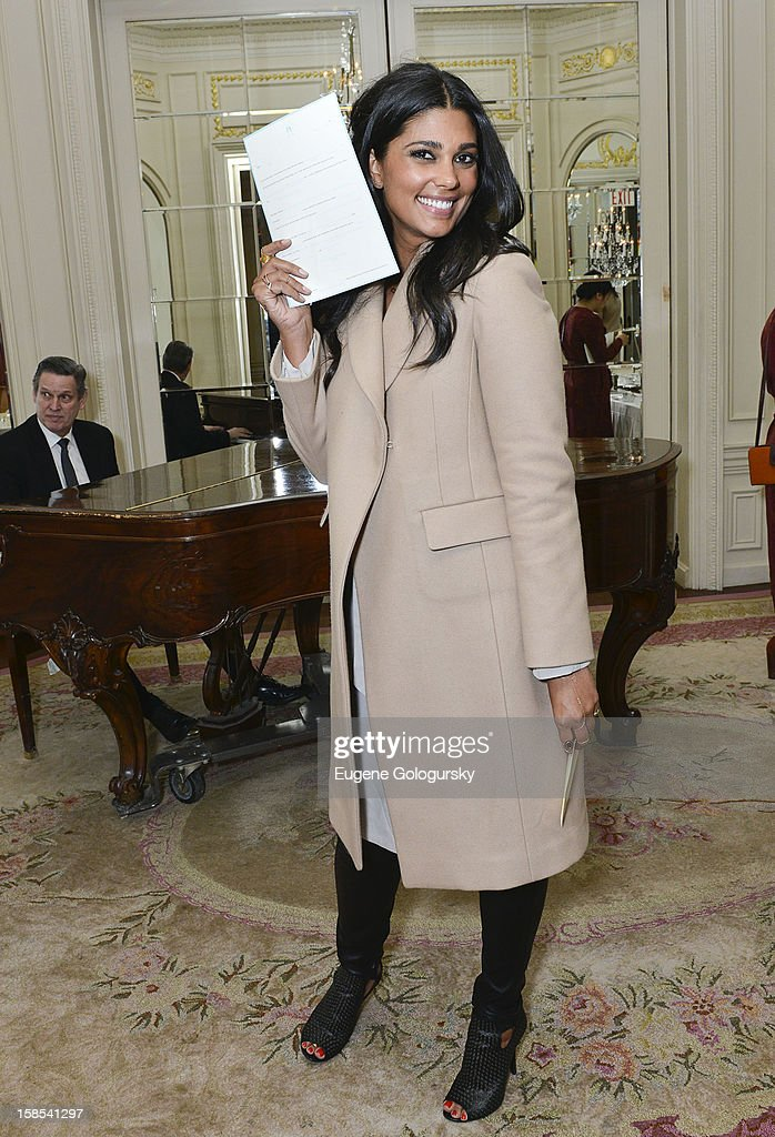 Rachel Roy attends Derek Blasberg for Opening Ceremony Stationery launch party at Saint Regis Hotel on December 18, 2012 in New York City.