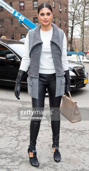Rachel Roy attends Fall 2013 MercedesBenz Fashion Show at The Theater at Lincoln Center on February 12 2013 in New York City