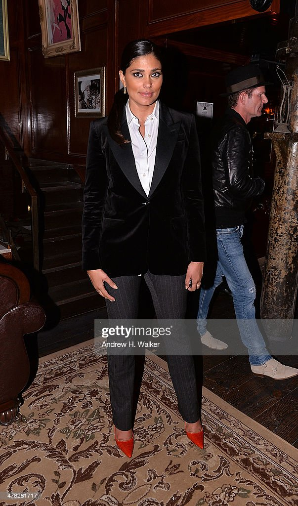 Rachel Roy attends Sony Pictures Classics' 'Only Lovers Left Alive' screening hosted by The Cinema Society and Stefano Tonchi, Editor in Chief of W Magazine after party at Chalk Point Kitchen on March 12, 2014 in New York City.